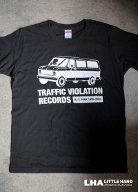 【再入荷】LHA 【LITTLE HAND】 ORIGINAL Tシャツ TRAFFIC VIOLATION RECORDS NY