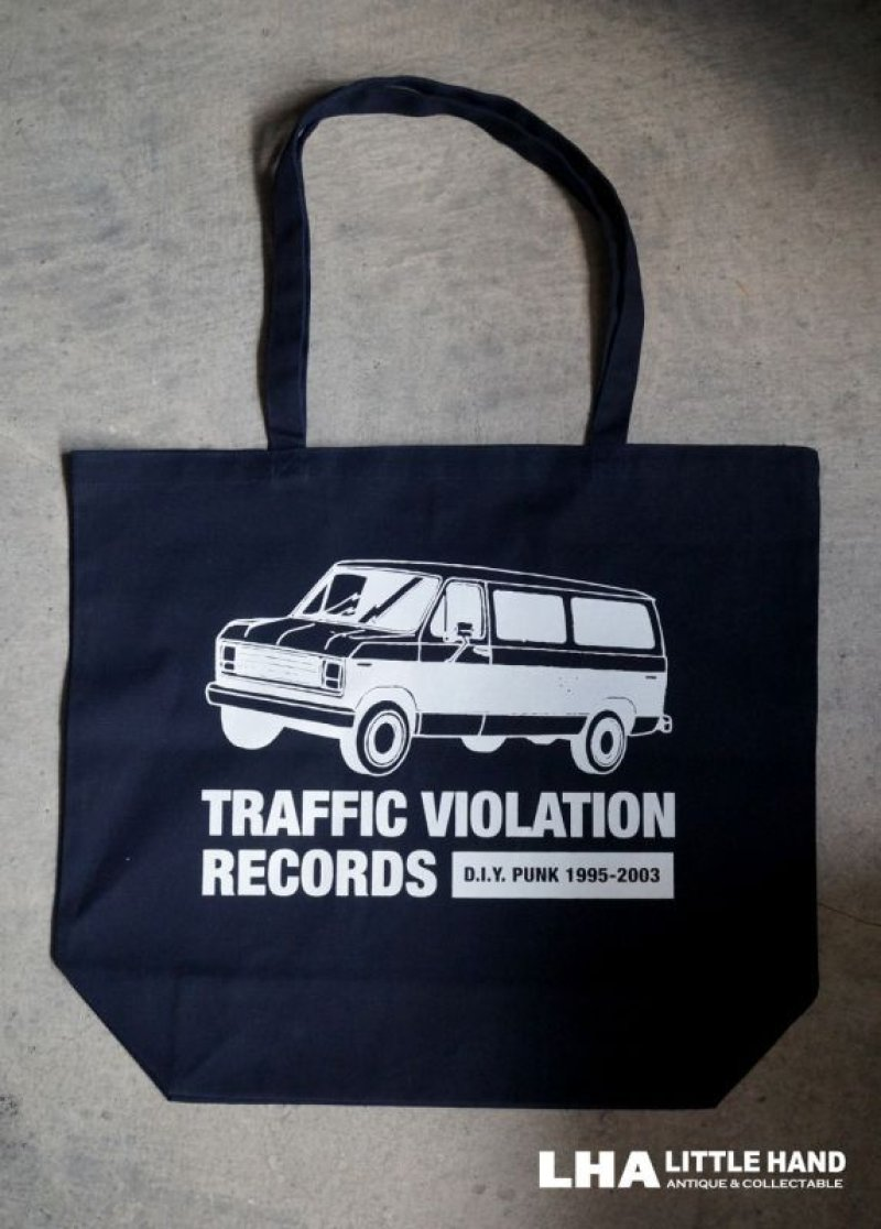 画像2: 【再入荷】LHA 【LITTLE HAND】 ORIGINAL トートバッグ TRAFFIC VIOLATION RECORDS NY