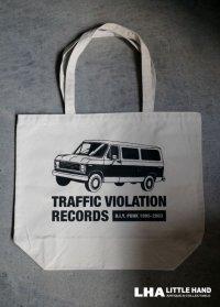 【再入荷】LHA 【LITTLE HAND】 ORIGINAL トートバッグ TRAFFIC VIOLATION RECORDS NY