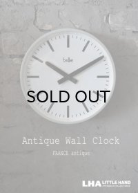FRANCE antique BRILLIE wall clock フランスアンティーク 掛け時計 ヴィンテージ クロック 26cm 1960-70's