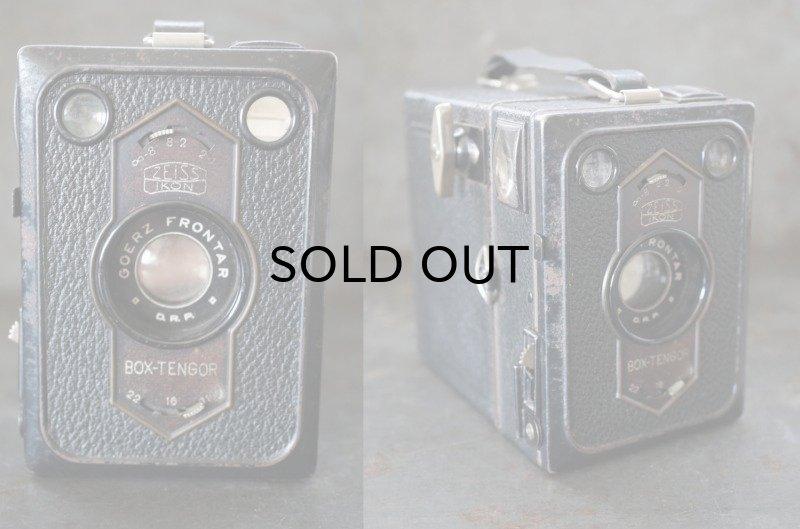 画像2: ENGLAND antique イギリスアンティーク BOX-TENGOR ボックスカメラ ヴィンテージ 1940-50's