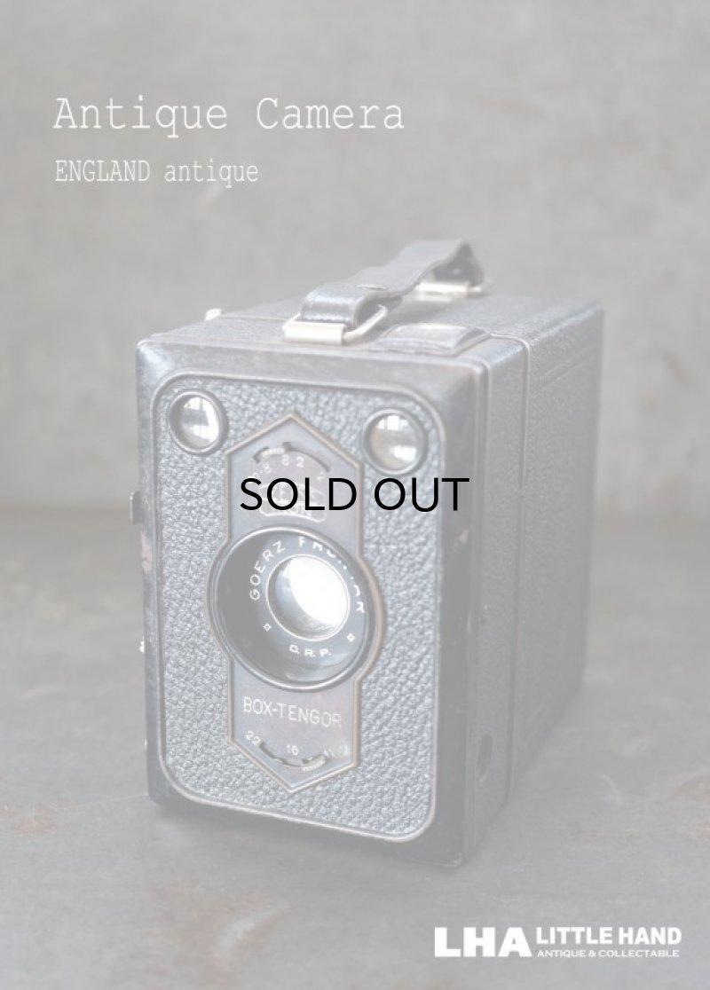 画像1: ENGLAND antique イギリスアンティーク BOX-TENGOR ボックスカメラ ヴィンテージ 1940-50's