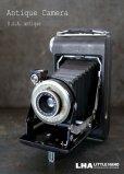 画像1: ENGLAND antique イギリスアンティーク KODAK コダック FOLDING CAMERA フォールディング カメラ 蛇腹式 ヴィンテージ 1950-60's (1)