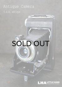 ENGLAND antique イギリスアンティーク KODAK コダック FOLDING CAMERA フォールディング カメラ 蛇腹式 ヴィンテージ 1950-60's