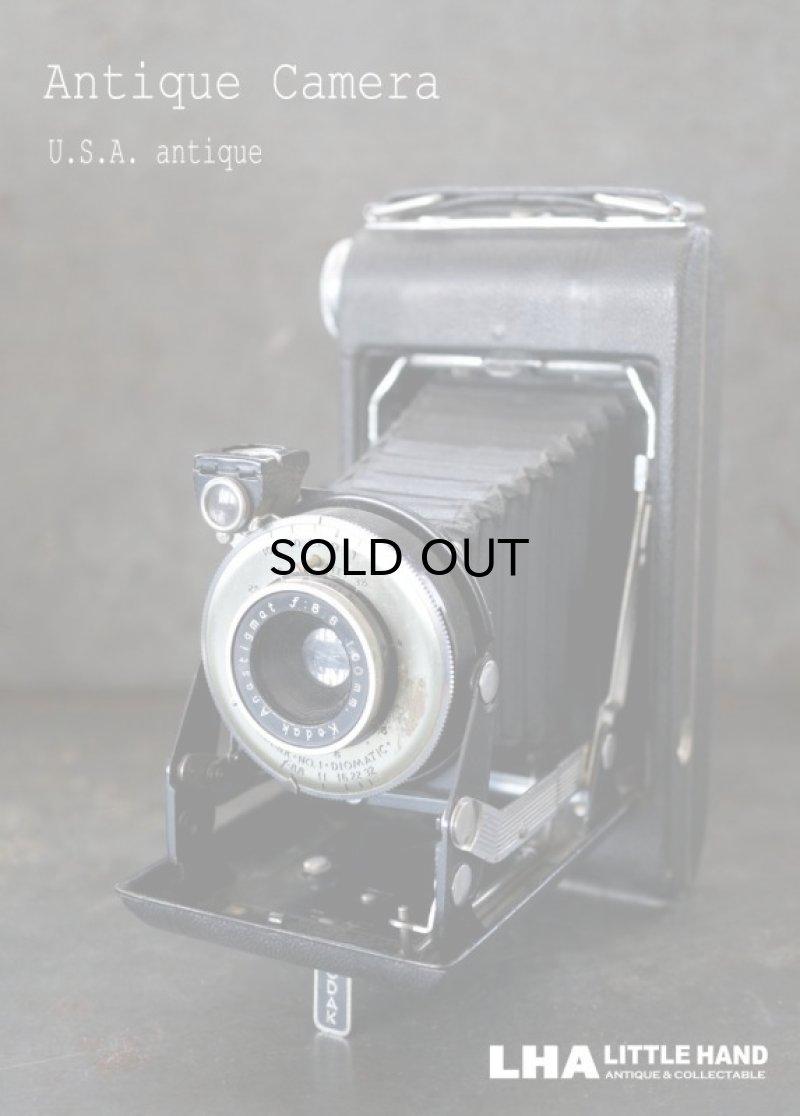 画像1: ENGLAND antique イギリスアンティーク KODAK コダック FOLDING CAMERA フォールディング カメラ 蛇腹式 ヴィンテージ 1950-60's