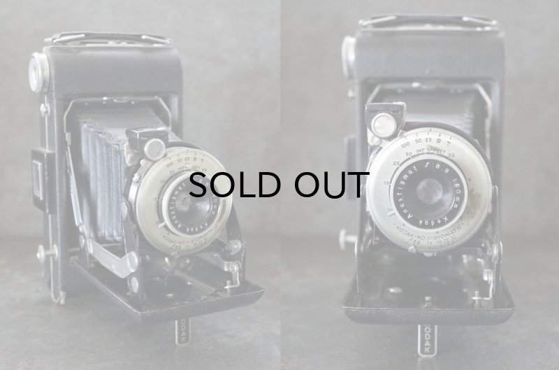 画像2: ENGLAND antique イギリスアンティーク KODAK コダック FOLDING CAMERA フォールディング カメラ 蛇腹式 ヴィンテージ 1950-60's