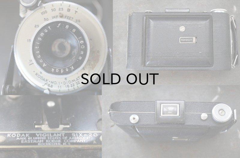 画像5: ENGLAND antique イギリスアンティーク KODAK コダック FOLDING CAMERA フォールディング カメラ 蛇腹式 ヴィンテージ 1950-60's