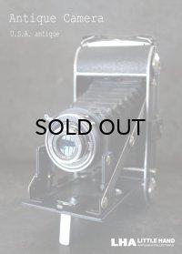 U.S.A. antique  アメリカアンティーク  FOLDING CAMERA フォールディング カメラ 蛇腹式 ヴィンテージ 1940-50's