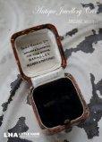 画像1: ENGLAND antique イギリスアンティーク ジュエリーケース ジュエリーボックス リングケース アクセサリー 1890-1930's (1)
