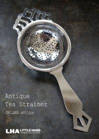 SALE 【30%OFF】 ENGLAND antique イギリスアンティーク ティーストレイナー ティーストレーナー 茶こし ヴィンテージ 1940-80's
