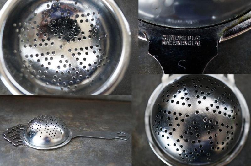 画像3: SALE 【30%OFF】 ENGLAND antique イギリスアンティーク ティーストレイナー ティーストレーナー 茶こし ヴィンテージ 1940-80's