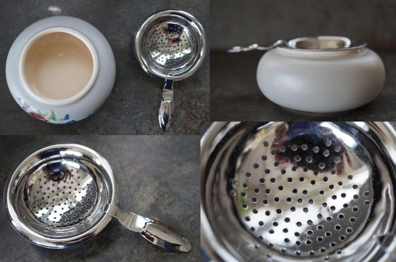 画像4: ENGLAND antique イギリスアンティーク DEVON ティーストレイナー ティーストレーナー 茶こし ヴィンテージ 1940-80's
