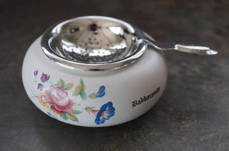 画像2: ENGLAND antique イギリスアンティーク DEVON ティーストレイナー ティーストレーナー 茶こし ヴィンテージ 1940-80's