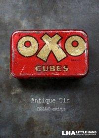 ENGLAND antique イギリスアンティーク 小さな OXO オクソ缶 1930's