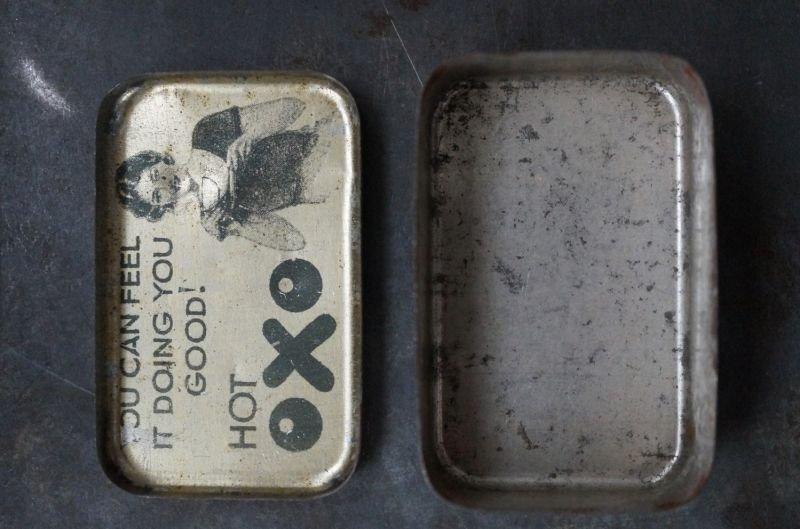 画像5: ENGLAND antique イギリスアンティーク 小さな OXO オクソ缶 1930's
