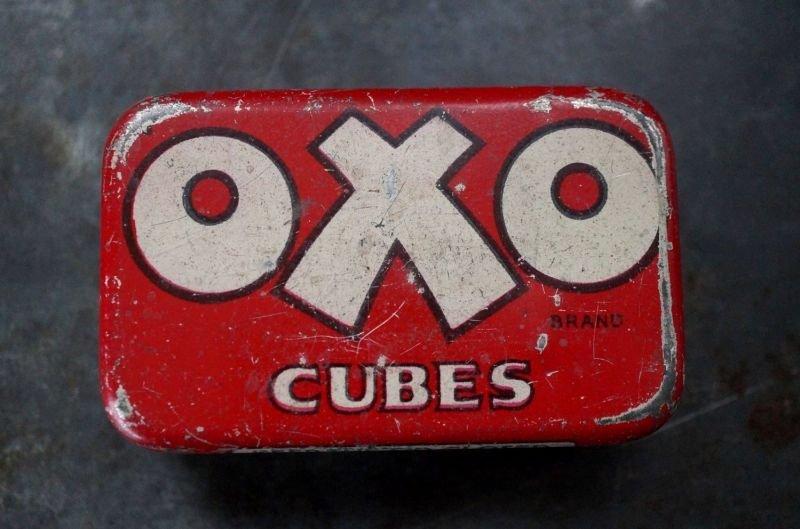 画像2: ENGLAND antique イギリスアンティーク 小さな OXO オクソ缶 1930's
