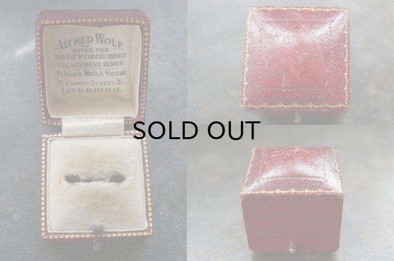 画像2: ENGLAND antique イギリスアンティーク ジュエリーケース ジュエリーボックス リングケース アクセサリー 1890-1930's