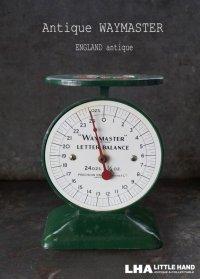 ENGLAND antique イギリスアンティーク WAYMASTER レターバランス スケール 1961's ウェイマスター はかり