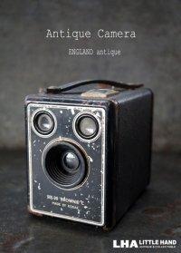 ENGLAND antique イギリスアンティーク KODAK Brownie Six-20 コダック ボックスカメラ ヴィンテージ 1950's