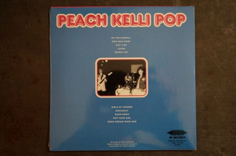 画像2: PEACH KELLI POP / S-T (1st)  CD