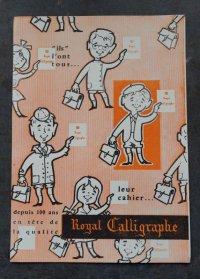 FRANCE antique フランスアンティーク ヴィンテージ BUVARD ビュバー Royal Calligraphe 1950-70's