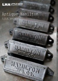 USA antique アメリカアンティーク HAMILTON ハミルトン プリンタートレイ ハンドル アイアン 取っ手 1900-30's