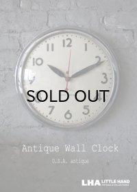 U.S.A. antique SETH THOMAS wall clock アメリカアンティーク 掛け時計 スクール ヴィンテージ クロック 38cm 1940-50's