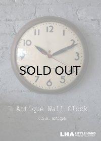 U.S.A. antique SETH THOMAS wall clock アメリカアンティーク 掛け時計 スクール ヴィンテージ クロック 38cm 1940's