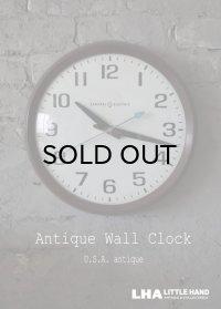 U.S.A. antique GENERAL ELECTRIC wall clock GE アメリカアンティーク ゼネラル エレクトリック 掛け時計 スクール ヴィンテージ クロック 36cm 1960-70's