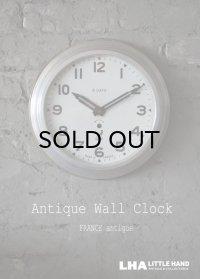FRANCE antique JAZ wall clock フランスアンティーク ジャズ 掛け時計 ヴィンテージ クロック 30cm 1941-67's