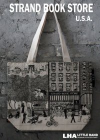【アメリカ直輸入・日本未発売】NY【STRAND BOOK STORE】TOTE BAG ストランドブックストア トートバッグ(L)