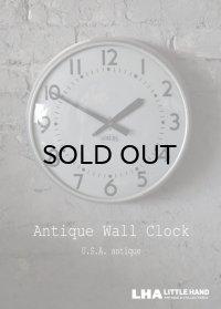 U.S.A. antique STANDARD wall clock アメリカアンティーク スタンダード 掛け時計 スクール ヴィンテージ クロック 37cm 1963's