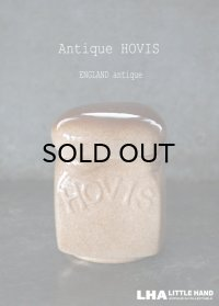 ENGLAND antique イギリスアンティーク HOVIS ホーヴィス 陶器製 シュガーポット ヴィンテージ 1970-80's