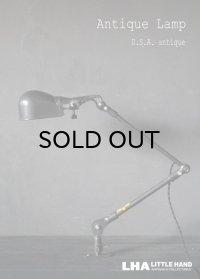 USA antique アメリカアンティーク インダストリアル CRAFTSMAN デスクランプ 工業系 ウォールランプ ライト 照明 ヴィンテージランプ 1950-60's