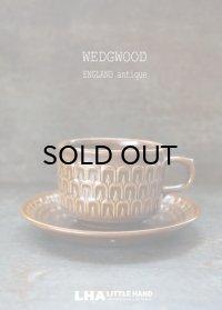 ENGLAND antique WEDGWOOD 【PENNINE】 イギリスアアンティーク ウェッジウッド ペナイン カップ&ソーサー C&S ヴィンテージ コーヒーカップ 1965-71's
