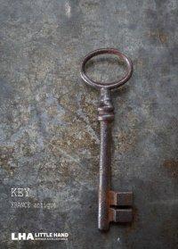 FRANCE antique KEY フランスアンティークキー 大きな鍵 H10.4cm 1890-1920's
