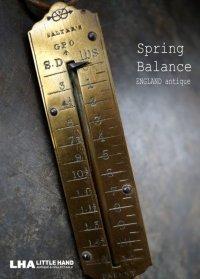 ENGLAND  antique イギリスアンティーク SALTER  スプリングバランス ポケットバランス ハンキング スケール  はかり  1920-40's