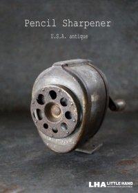 USA antique アメリカアンティーク BOSTON ボストン ペンシルシャープナー 鉛筆削り ヴィンテージ 1920-40's