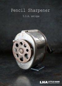 USA antique アメリカアンティーク BOSTON ボストン ペンシルシャープナー 鉛筆削り ヴィンテージ 1930-50's