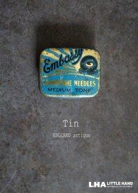 ENGLAND antique イギリスアンティーク ニードル缶 ティン缶 ヴィンテージ ブリキ缶1900-30's