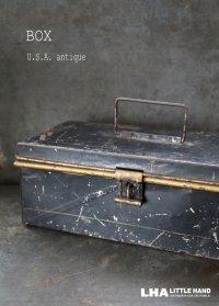 USA antique  アメリカアンティーク ツールボックス BOX ヴィンテージ 1920-50's