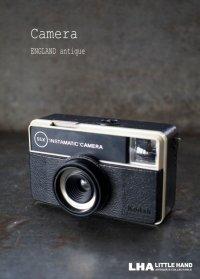 ENGLAND antique イギリスアンティーク KODAK 55X INSTAMATIC CAMERA  コダック カメラ ケース付き ヴィンテージ 1950-70's