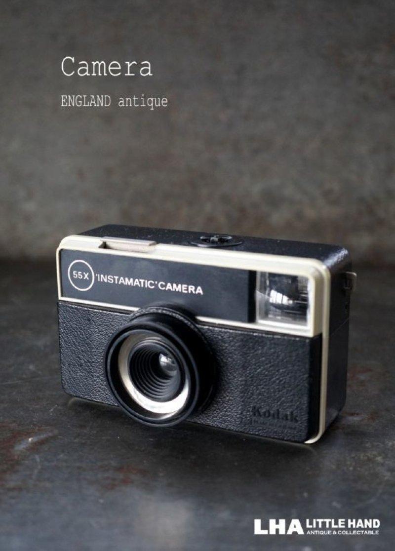 画像1: ENGLAND antique イギリスアンティーク KODAK 55X INSTAMATIC CAMERA  コダック カメラ ケース付き ヴィンテージ 1950-70's