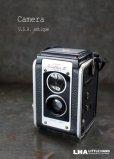 画像1: ENGLAND antique イギリスアンティーク KODAK DUAFLEX III コダック 二眼レフカメラ ヴィンテージ 1950's (1)
