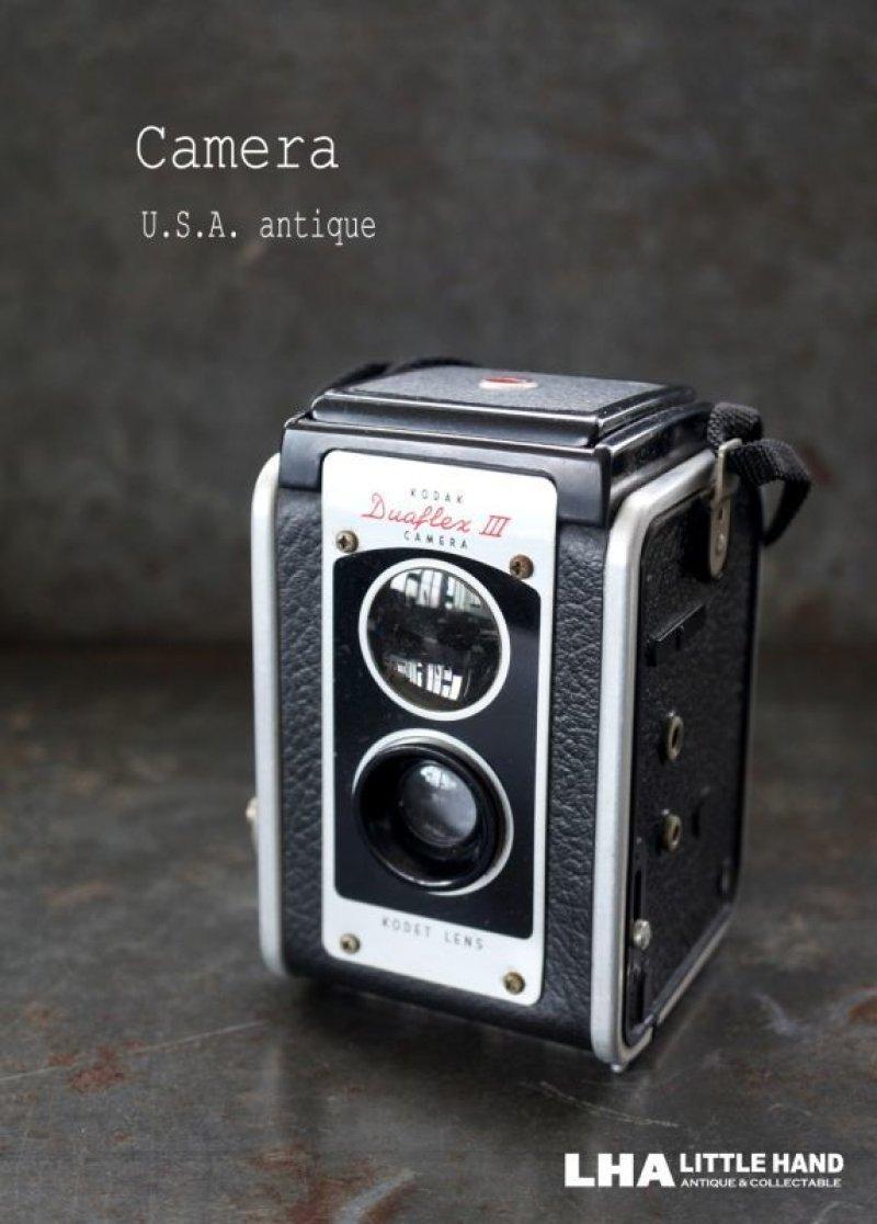 画像1: ENGLAND antique イギリスアンティーク KODAK DUAFLEX III コダック 二眼レフカメラ ヴィンテージ 1950's