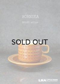 ENGLAND antique HORNSEA 【SAFFRON】イギリスアンティーク ホーンジー サフラン カップ&ソーサー C&S 1970-80's ヴィンテージ