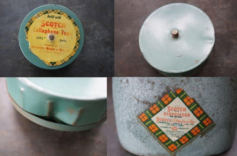 画像5: USA antique SCOTCH アメリカアンティーク スコッチ テープカッター テープディスペンサー ヴィンテージ1930-50's