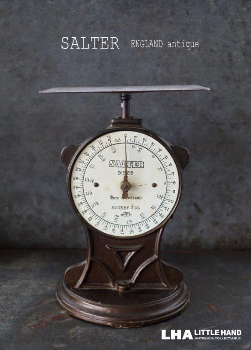 画像1: ENGLAND antique イギリスアンティーク SALTER POSTAL SCALE ポスタルスケール no.25 はかり 1920-40's