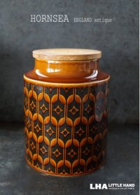 ENGLAND antique HORNSEA 【HEIRLOOM】 イギリスアンティーク ホーンジー エアルーム  キャニスター(L) 1970's ヴィンテージ カップ
