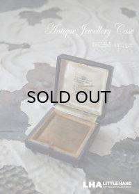ENGLAND antique イギリスアンティーク ジュエリーケース ジュエリーボックス アクセサリー 1890-1930's